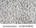 white natural fleece carpet... | Shutterstock . vector #1418150840