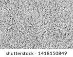 white natural fleece carpet... | Shutterstock . vector #1418150849