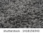 black natural fleece carpet... | Shutterstock . vector #1418156543