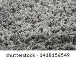 black natural fleece carpet... | Shutterstock . vector #1418156549