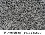 black natural fleece carpet... | Shutterstock . vector #1418156570