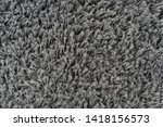 black natural fleece carpet... | Shutterstock . vector #1418156573