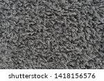 black natural fleece carpet... | Shutterstock . vector #1418156576