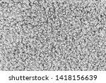 white natural fleece carpet... | Shutterstock . vector #1418156639