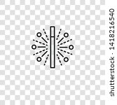 magic wand icon from magic...   Shutterstock .eps vector #1418216540