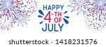 horizontal banner with... | Shutterstock .eps vector #1418231576