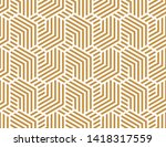 abstract geometric pattern with ... | Shutterstock .eps vector #1418317559