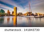 evening light on the inner... | Shutterstock . vector #141843730