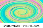 rainbow colored abstract... | Shutterstock . vector #1418460026