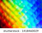 rainbow colored abstract... | Shutterstock . vector #1418460029