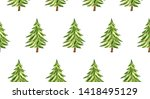 a repeating seamless pattern.... | Shutterstock . vector #1418495129