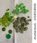 Assortment Of Green Plastic...