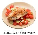 grilled chicken breast salad...