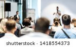 business and entrepreneurship... | Shutterstock . vector #1418554373