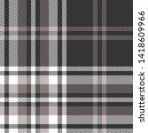 plaid pattern seamless vector... | Shutterstock .eps vector #1418609966
