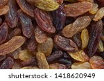 close up of dark brown and... | Shutterstock . vector #1418620949