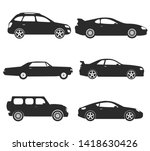 transport design over white... | Shutterstock .eps vector #1418630426