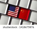 Usa And China   Us American An...