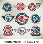Vintage Label Banners And...
