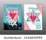 annual report 2020  future ... | Shutterstock .eps vector #1418693999