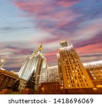 moscow  russia   may 17  2019 ... | Shutterstock . vector #1418696069