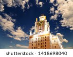 moscow  russia   may 17  2019 ... | Shutterstock . vector #1418698040