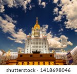 moscow  russia   may 17  2019 ... | Shutterstock . vector #1418698046