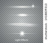 lens flares with streaking... | Shutterstock .eps vector #1418839313