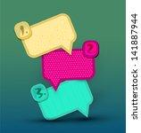 vintage design elements for... | Shutterstock . vector #141887944