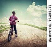 nature background in vintage... | Shutterstock . vector #141888766