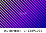 vector diagonal stripes... | Shutterstock .eps vector #1418891036