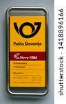 piran slovenia 05 19 2019 ... | Shutterstock . vector #1418896166