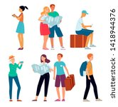 Travelling People Concept Set....