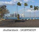 panama city  panama   march 04  ...   Shutterstock . vector #1418956529