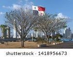 panama city  panama   march 04  ...   Shutterstock . vector #1418956673