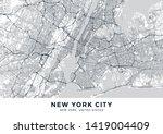 New York City  Nyc  Ny  Map....