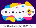 vector creative illustration of ...   Shutterstock .eps vector #1419005156