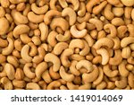 Cashews background , full frame