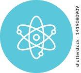 atom particle matter outline... | Shutterstock .eps vector #1419080909