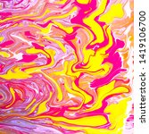 color watercolor stains and... | Shutterstock . vector #1419106700