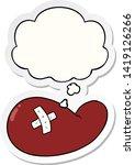cartoon injured gall bladder...   Shutterstock .eps vector #1419126266