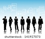 business visit card | Shutterstock . vector #141927073