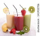 assortment of fruit juice | Shutterstock . vector #141933706