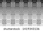 black and white relief convex... | Shutterstock . vector #1419343136