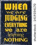 when we are judging everything...   Shutterstock .eps vector #1419354170
