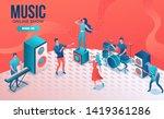 concert isometric 3d...