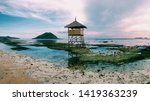 beautiful view point on the... | Shutterstock . vector #1419363239