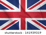 Fabric Flag Of United Kingdom