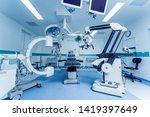 modern equipment in operating... | Shutterstock . vector #1419397649
