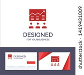 creative business card and logo ... | Shutterstock .eps vector #1419431009
